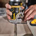 DeWalt DCW600B 20V Max Cordless Compact Router (Tool Only) Image 3