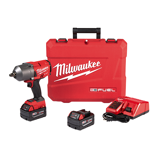 Milwaukee 2767-22 M18 Fuel Impact Wrench Kit Image 1