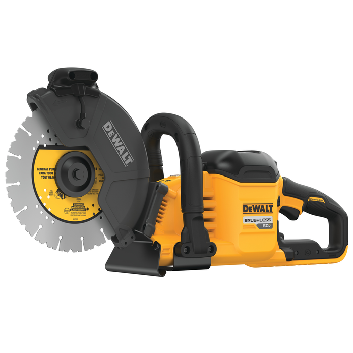 "DeWalt DCS690X2 FlexVolt 9"" Cut-Off Saw Kit Image 2"