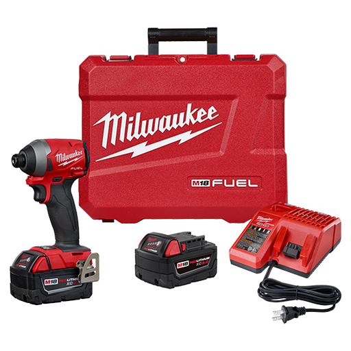 Milwaukee 2853-22 M18 Fuel Impact Driver Kit Image 1