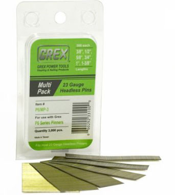 Grex P6/MP-3 Galvanized Headless Pins