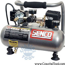 Senco PC1010 1 Gallon Micro Oil-less Compressor