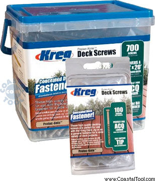 Kreg Protec-Kote Deck Screws