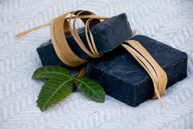 natural soap, natural charcoal soap, natural skin care products, skin care products, kalii naturals, activated charcoal facial soap