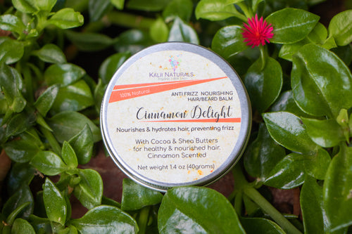 Cinnamon Delight Anti Frizz Hair/Beard Balm