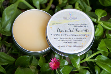 Unscented Favorite Anti  Frizz Hair/Beard Balm $11.95