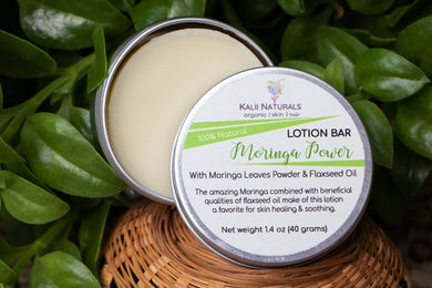 Moringa Power Lotion Bar $8.75