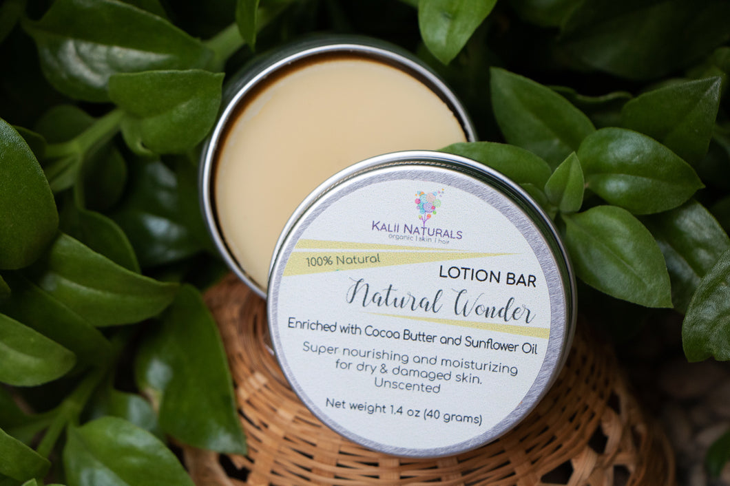 Natural Wonder Lotion Bar $8.75