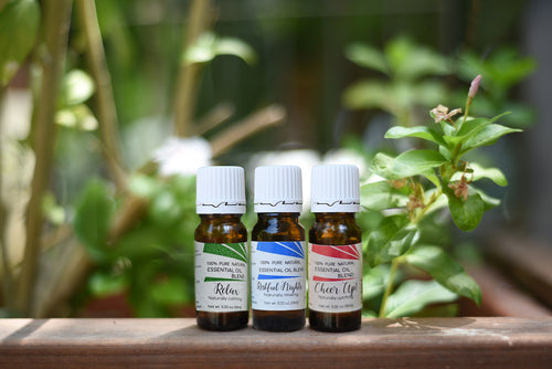 Our Collection: Three Essential Oil Blends