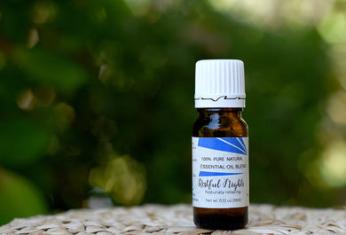 Restful Nights <br>Essential Oil Blend $15.00