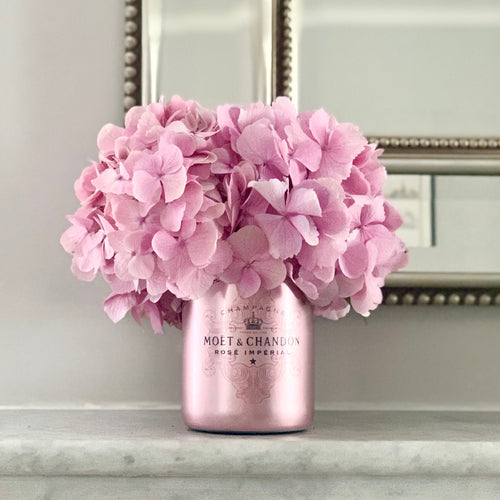Pink M&C Imperial Limited Edition Upcycled Champagne Vase