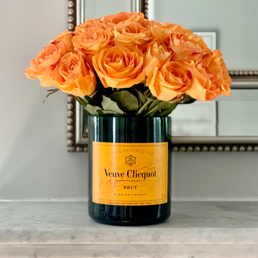XL VC Upcycled Champagne Magnum Vase