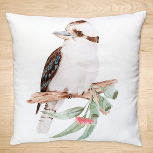 Kookaburra Cushion Cover Cotton Drill Silken Twine Cushion Cover