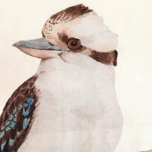 Load image into Gallery viewer, Kookaburra Cushion Cover Cotton Drill Silken Twine Cushion Cover