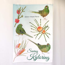Load image into Gallery viewer, Saving Kyloring Tea towel Silken Twine Tea Towel