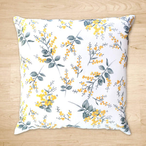 Silver Wattle Cushion Cover Cotton Drill Silken Twine Cushion Cover