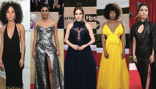 Statement Jewelry at the 2018 SAG Awards