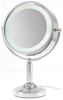 Danielle Creations 15x/1x Extreme Magnification LED-Lighted Reversible Vanity Mirror