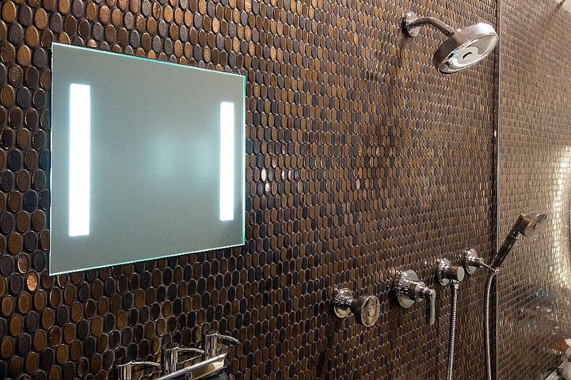 Clear Mirror LED Lighted, Heated Fog-Free Shower Mirror