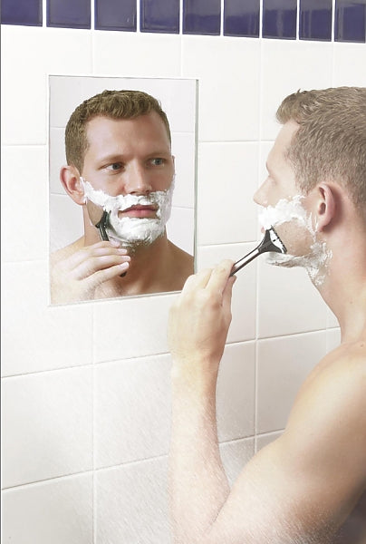 ClearMirror Fogless Electrically Heated Permanent Shower Mirror - 4 Sizes