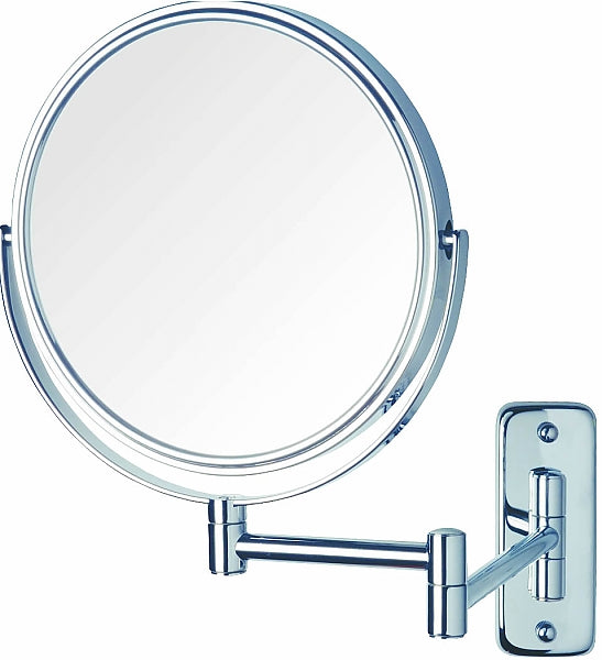 Jerdon Reversible 5x/1x Wall-Mount Vanity Mirror - 3 Finishes
