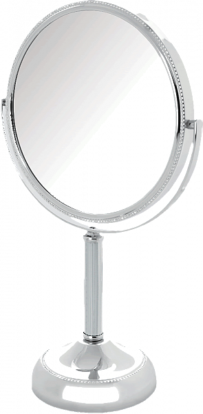 Jerdon Reversible10x/1x Beaded Frame Vanity Mirror - 3 Finishes