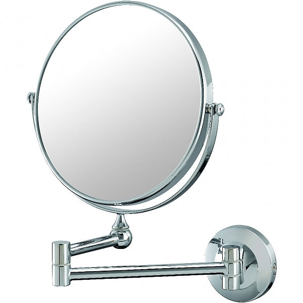 Kimball & Young Mirror Image 10x/1x Reversible Magnifying Makeup Mirror, Chrome