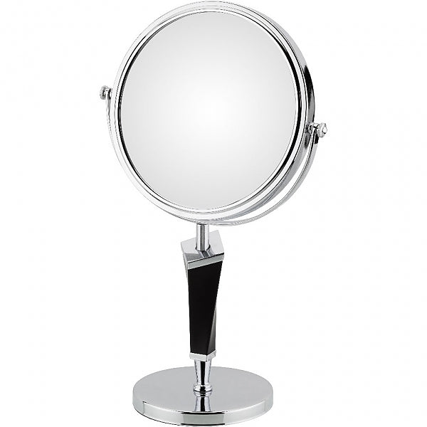 Kimball & Young Mirror Image Helix 5x/1x Chrome & Black Vanity Mirror