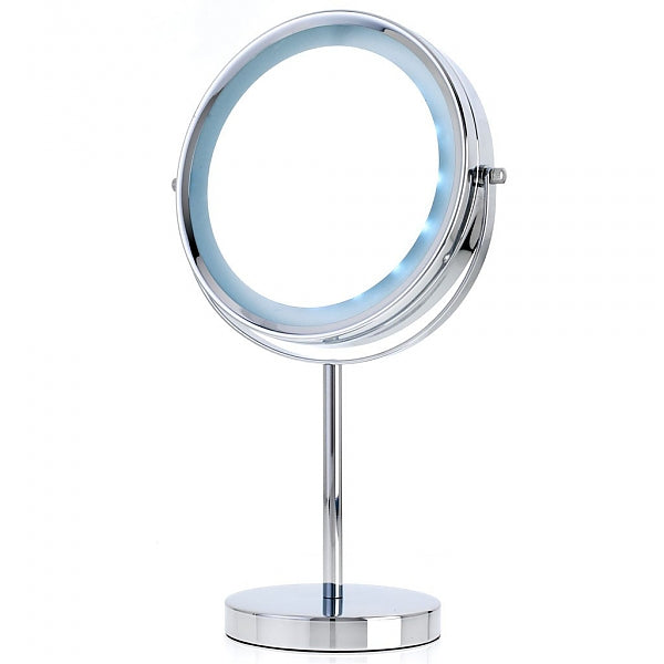 Danielle Creations 5x/1x LED-Lighted Reversible Vanity Makeup Mirror