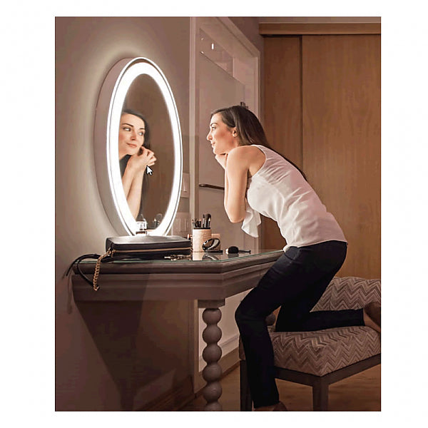 Electric Mirror Eternity Backlit Natural-Light LED Mirror Lights You Up and Lights Up Your Room