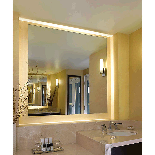 Electric Mirror Serenity LED Backlit Mirror; Elegantly Designed with an Ambient Wall Glow - 4 Sizes
