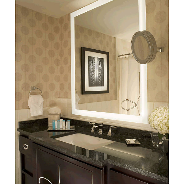 "Electric Mirror Silhouette +Keen Auto Dimming Back-Lighted LED Mirror Floats ""Free"" - 8 Sizes"