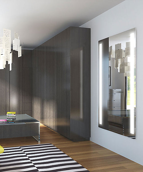 Electric Mirror Fusion Wardrobe Mirror with Natural LED Lighting