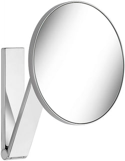 KEUCO 5x Non-Lighted Wall Mounted Round iLook_move Vanity Mirror in 4 Finishes