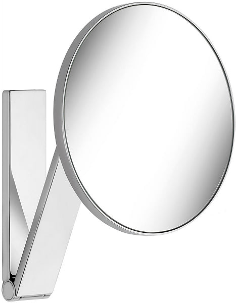KEUCO 5x Non-Lighted Wall Mounted Round iLook_move Vanity Mirror in 6 Finishes