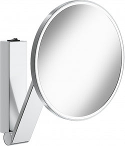 KEUCO 5x Hardwired Round 6,500k (Bright Whie Daylight) LED Cosmetic Mirror with Rocker Switch