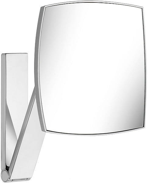 KEUCO 5x Non-Lighted Wall Mounted Square iLook_move Vanity Mirror in 6 Finishes