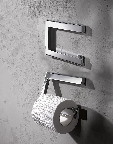 Keuco Edition 400 Toilet Paper Holder and Spare Roll Holder - 3 Finishes