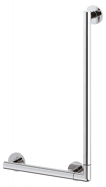 "Keuco Plan Care Angle Bar 90° - Polished Chrome - 24"" or 48"""