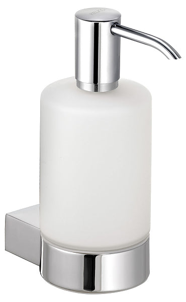Keuco Plan Lotion Dispenser for Liquid Soap with Matte Crystal Bottle