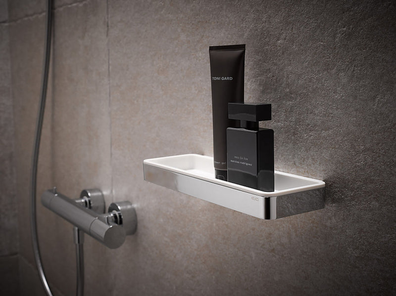 Keuco Plan Shower Basket in 6 Finish Combinations
