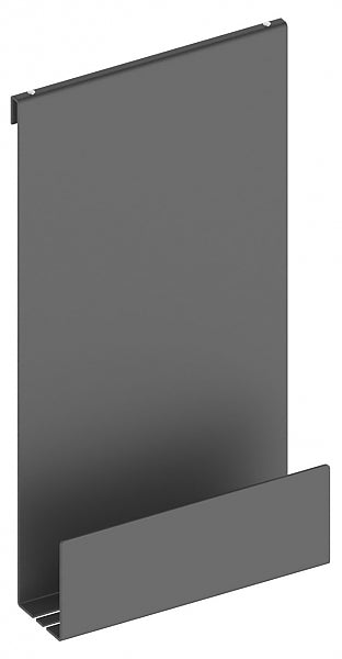 Keuco Shower Shelf-Over-Glass Finished in Matte Black or Matte White