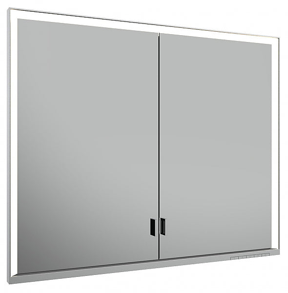 Keuco Royal Lumos 2-Door Mirrored Bathroom Cabinet - Intelligent Lighting and Intuitive Operation