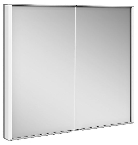 Keuco Royal Match Mirrored Bathroom Cabinet - 3,000k Lighting and Flexible Storage
