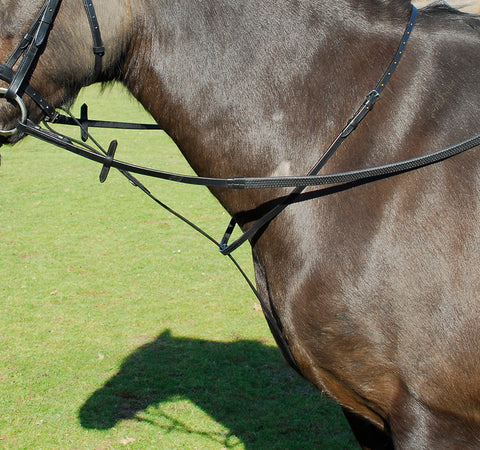 Leather Standing Martingale