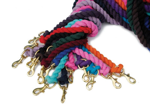 Cotton leadrope