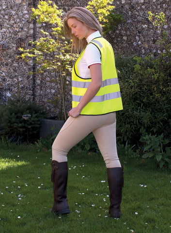 Adults Hi - Viz Zipped Tabard