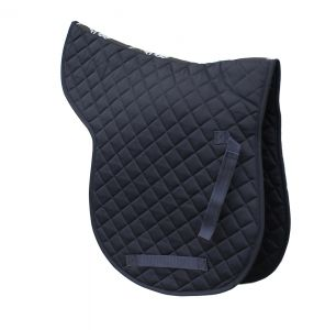 Cotton Quilted GP Numnah - Navy