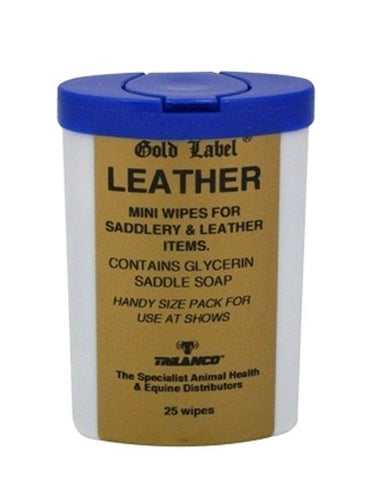 Gold Label - Leather Wipes 25 Pack