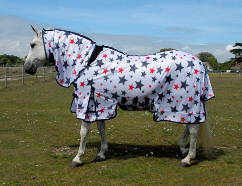 Sahara Star Print Full Neck Fly Rug